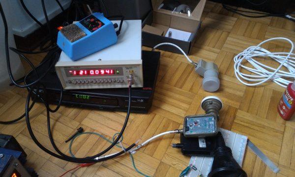 Modifica di un LNB per utilizzo in ATV
