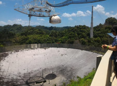 Visita al Radiotelescopio di Arecibo (Porto Rico)