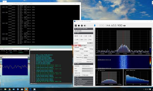 Decodifica DMR con DSD+ e chiavetta SDR
