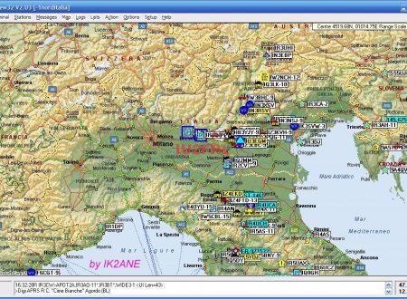 APRS con TNC2S di DK9SJ e UI-VIEW32