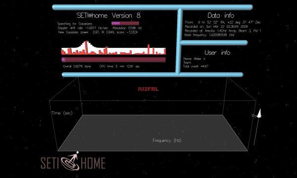 Partecipare al Progetto SETI@HOME