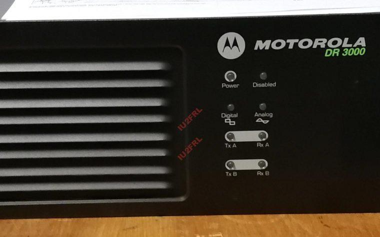 Un nuovo giocattolo: Motorola DR3000 – Trucchi e consigli
