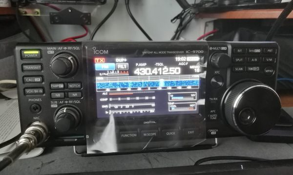Arrivato il Icom IC-9700 – Prime Impressioni