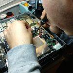 Panadapter board installata su ICOM IC-756 Pro III da Marcello IK8DNJ