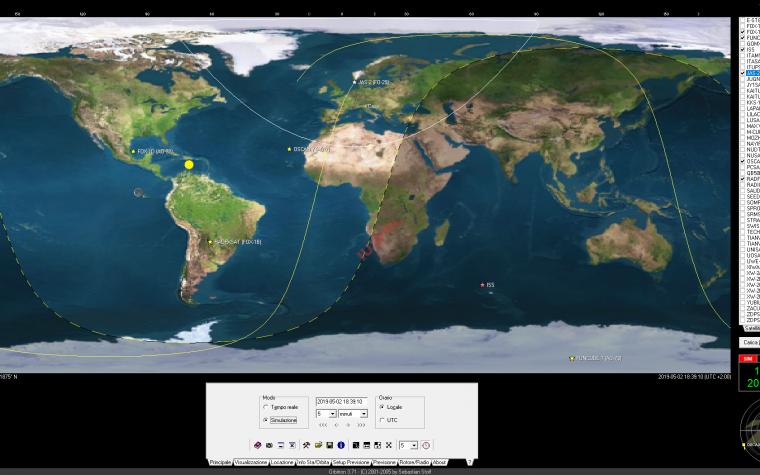 Icom IC-9700 su Satelliti e Modi Digitali
