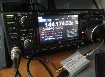 Icom IC-9700 GPSDO locked