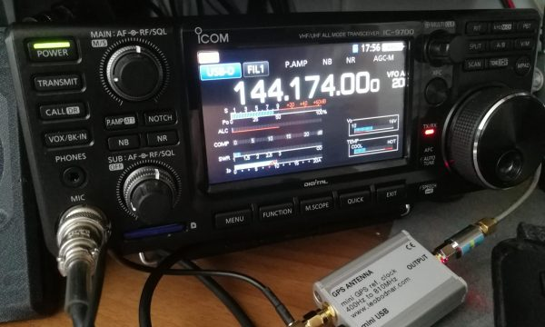 Icom IC-9700 GPSDO locked