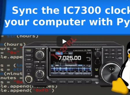 Aggiornamento automatico del orologio su IC-7300