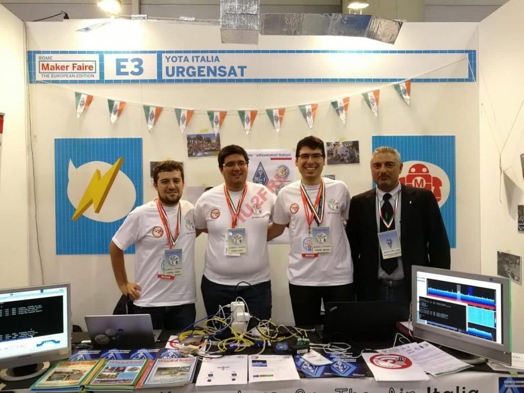 YOTA Italia e Urgensat al Maker Faire Roma 2019