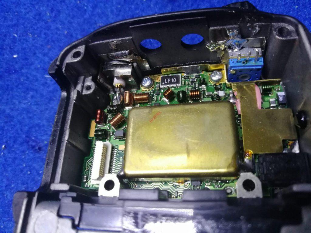 Icom IC-E90 e Perdita di Sensibilità