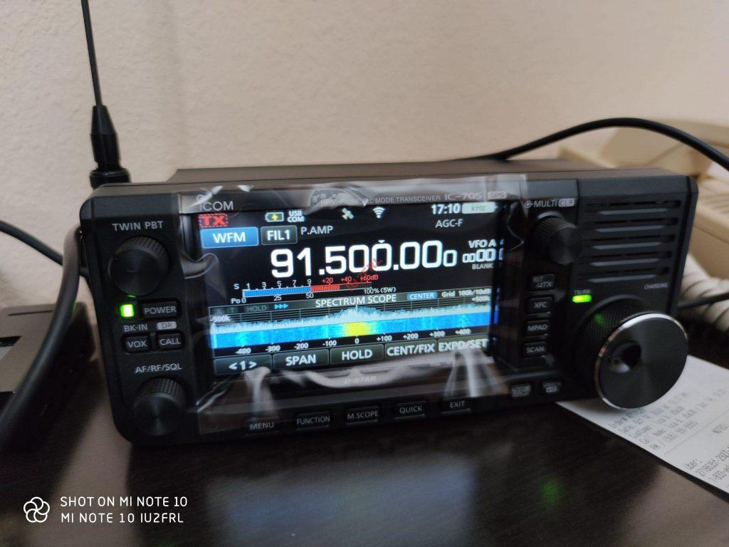 Nuovo arrivo: ICOM IC-705