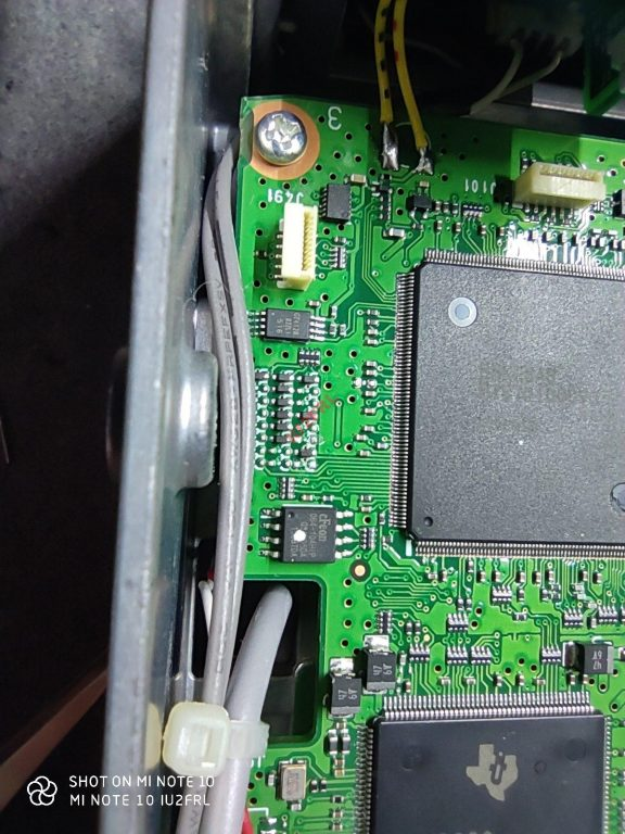Espansione di banda ICOM IC-7300 (MARS mod)