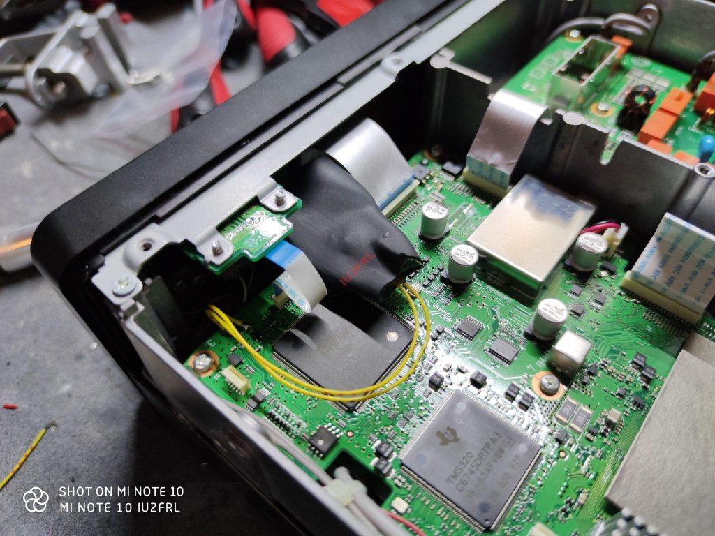 Sostituzione batteria tampone ICOM IC-7300