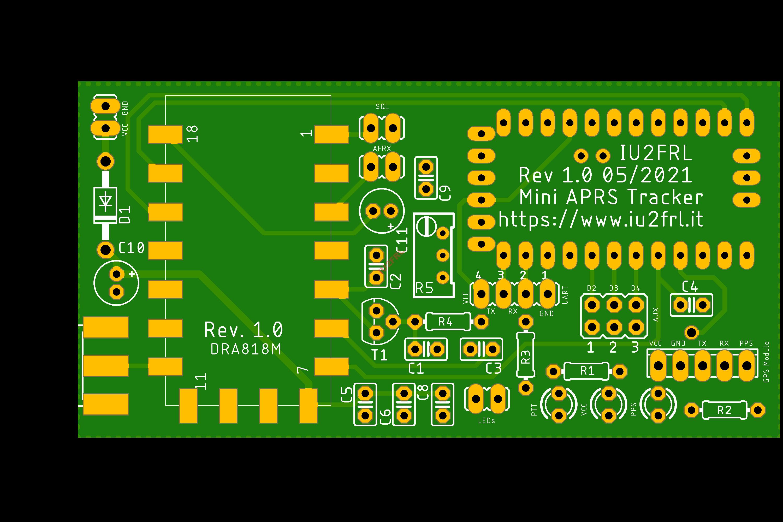 Micro APRS Tracker