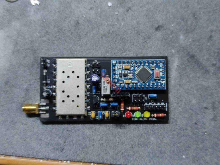 Prova on the air del Mini APRS Tracker
