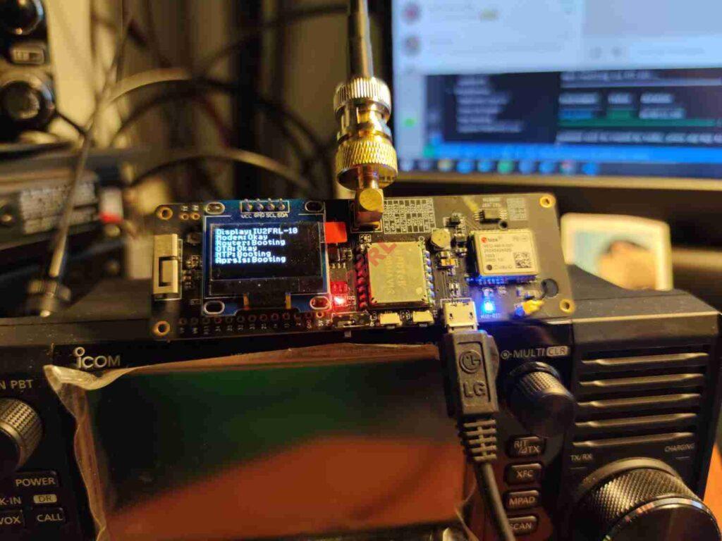Creazione iGate Lora32 a 433Mhz