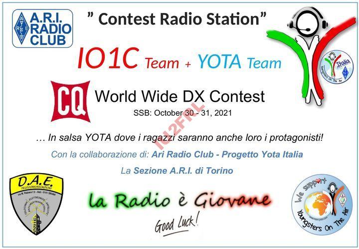 CQ WW 2021: YOTA Italia a IO1C